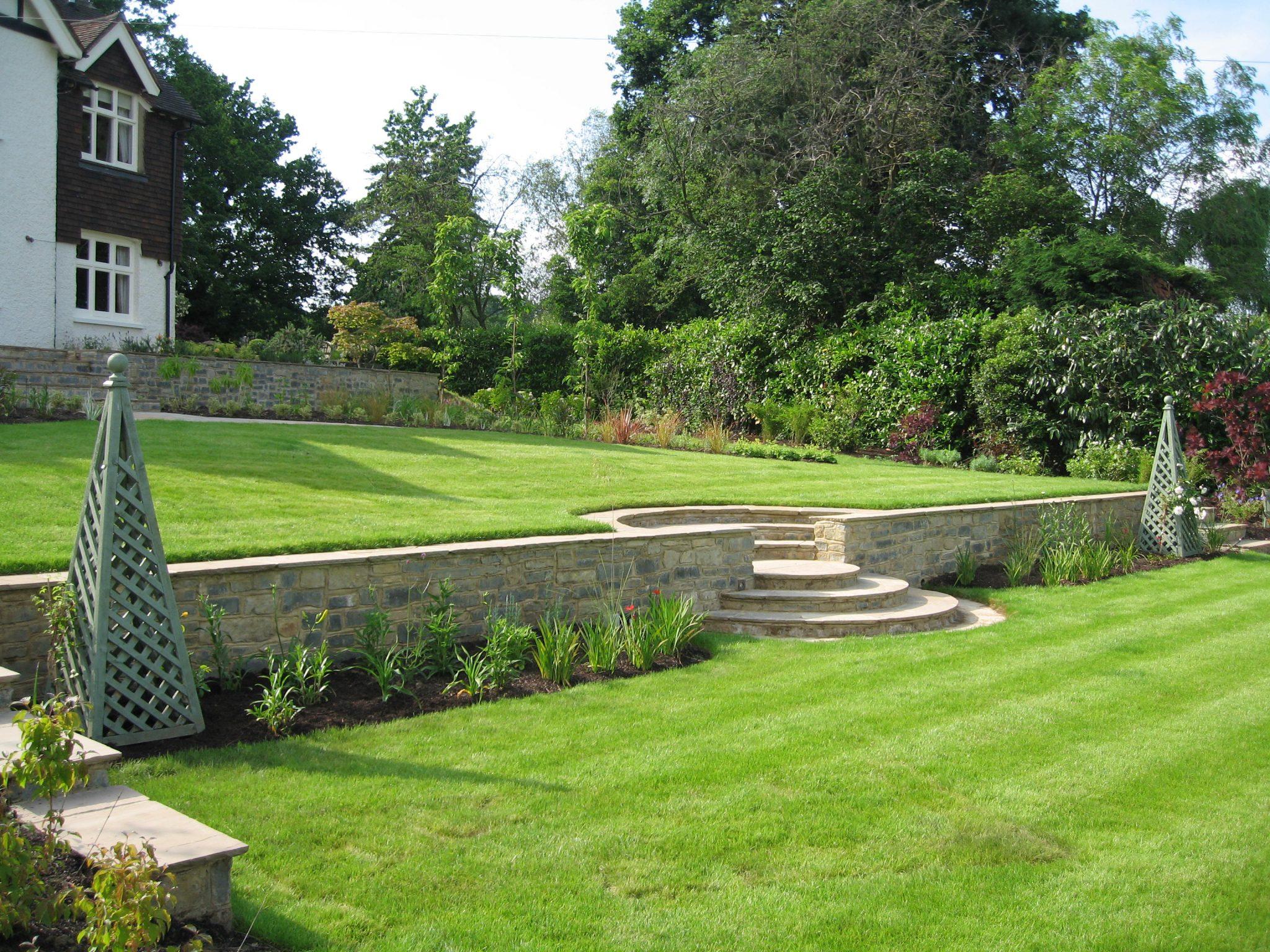 Walling And Terracing Garden Vista Group