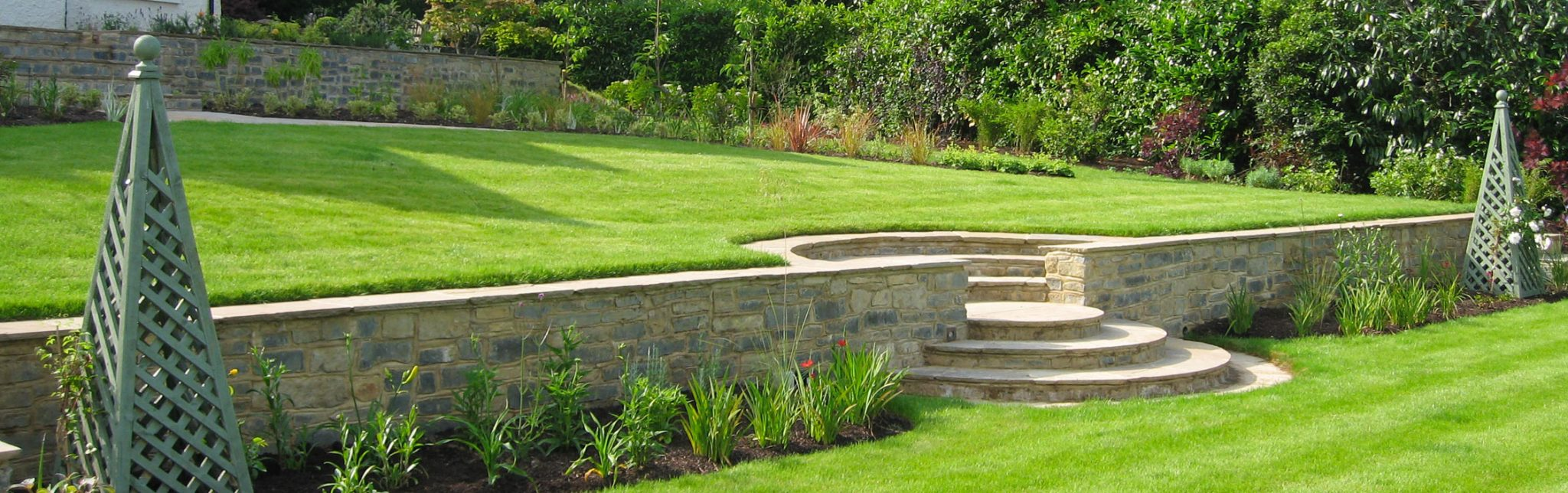 Creating beautiful gardens and unique outdoor spaces