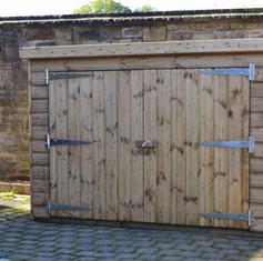 Garden Tidies & Bike Storage