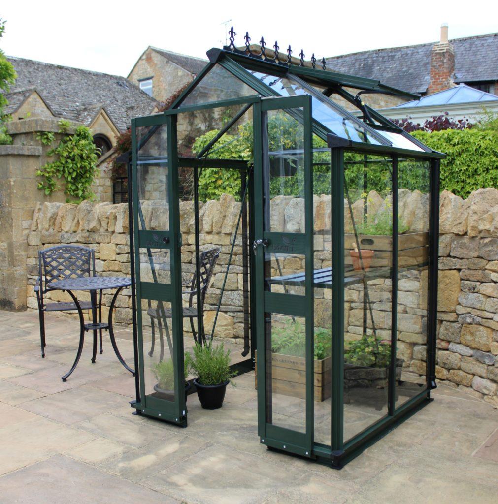 Eden Birdlip 44 Greenhouse - green