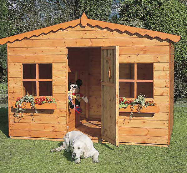 Oaktree Childrens Playhouse 8' x 6' without veranda