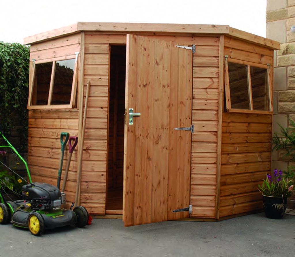 Regency Clayton shed 7' x 7'