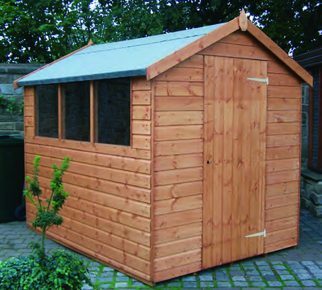 Regency Popular Apex shed 8' x 6'