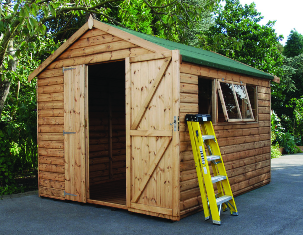 Regency Cawwhrorn Shed 10' x 8' with optional deluxe cladding