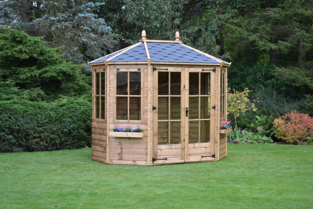 Regency Wingrove Summerhouse 8'10 x 6'4""