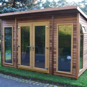 Regency Capri Summerhouse 12' x 8' with optional cedar cladding