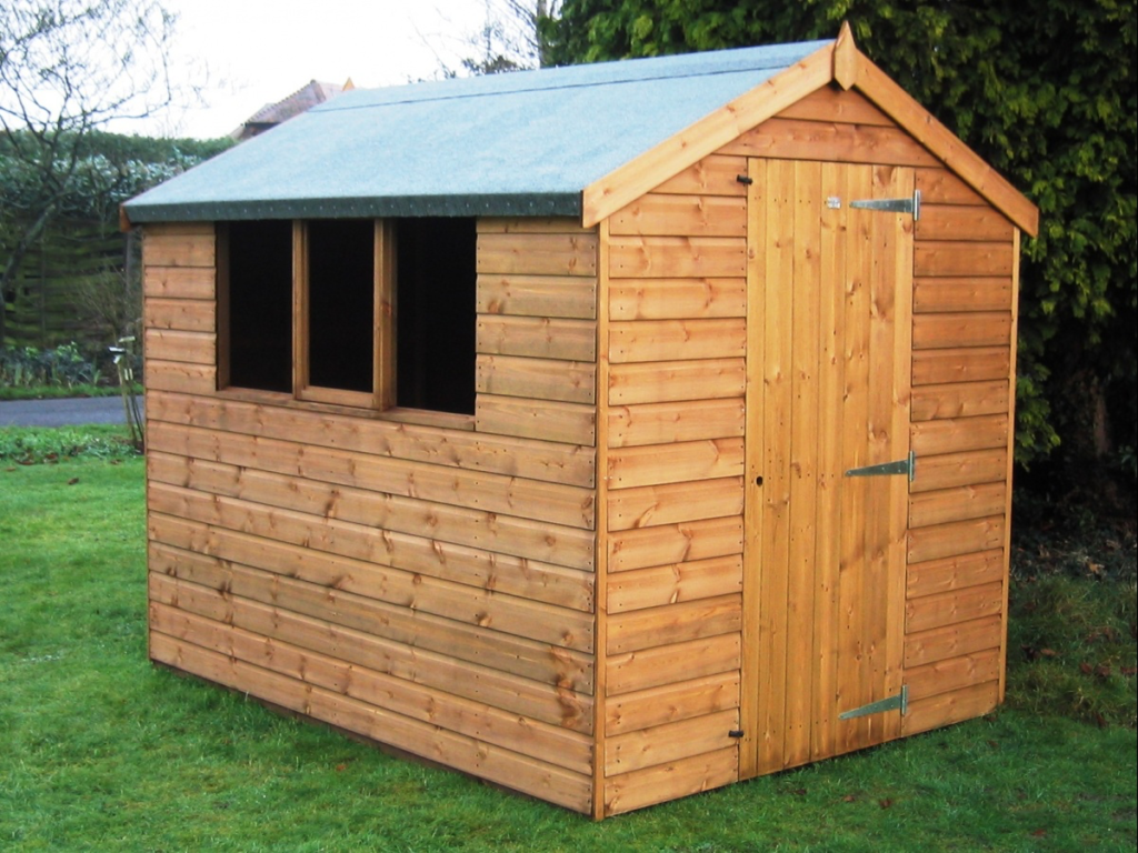 Passmores Premier Apex Shed Style B