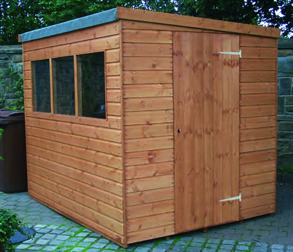 Regency Popular Pent shed 8' x 6'