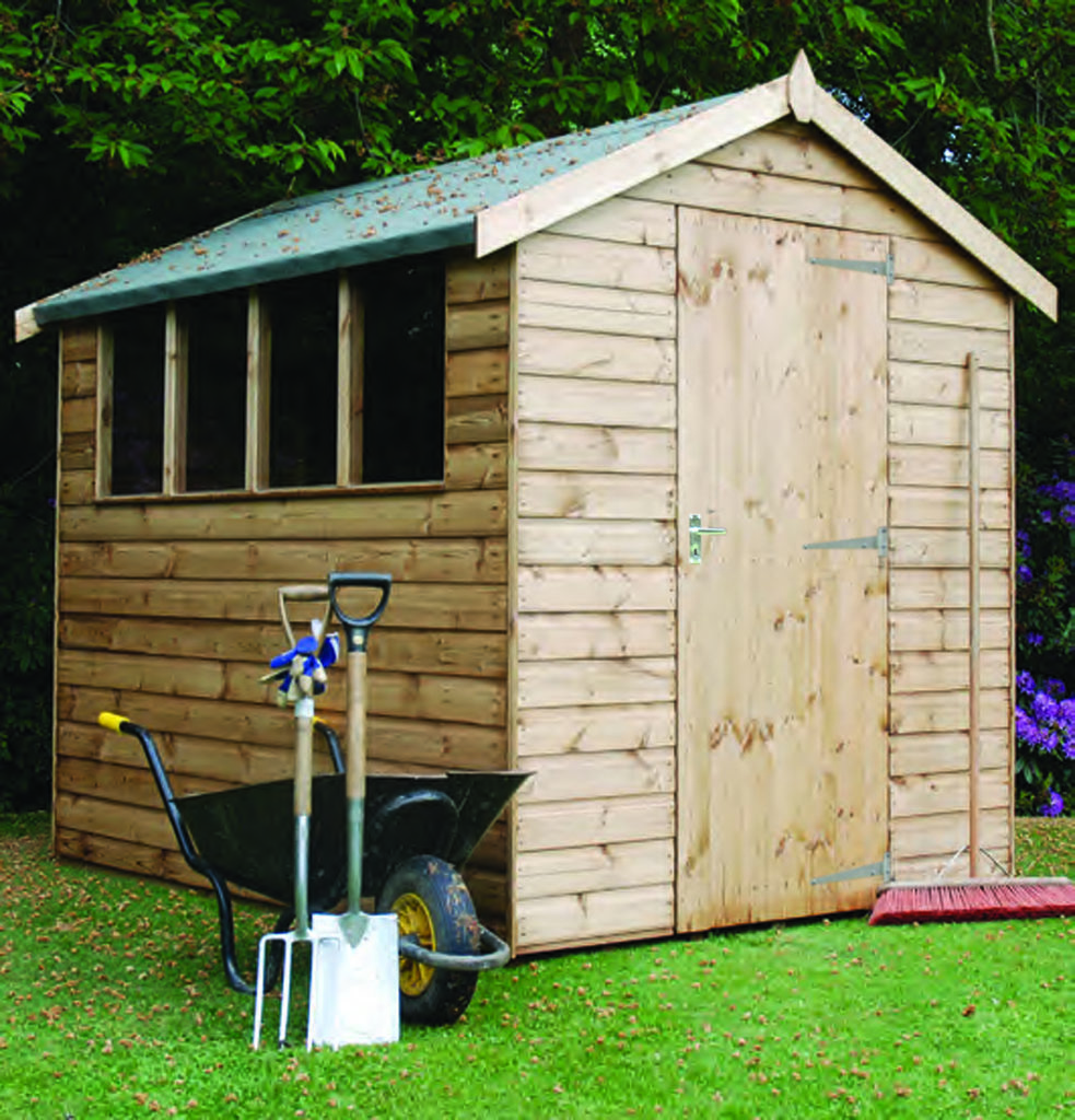 Regency Royston Apex Shed 8' x 6'