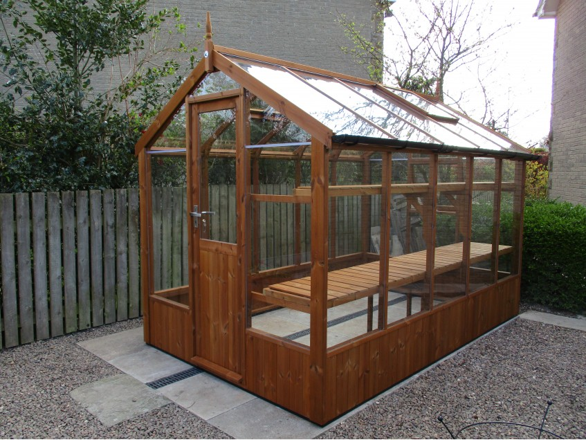 Swallow Kingfisher Greenhouse 6'8 x 10'5 Oiled