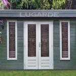 Lugarde Log Cabin flat roof B11