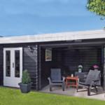 Lugarde Log Cabin with verandah B9
