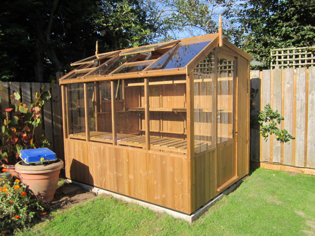 Swallow Greenhouses Jay 6'8 x 8'4 Potting Shed