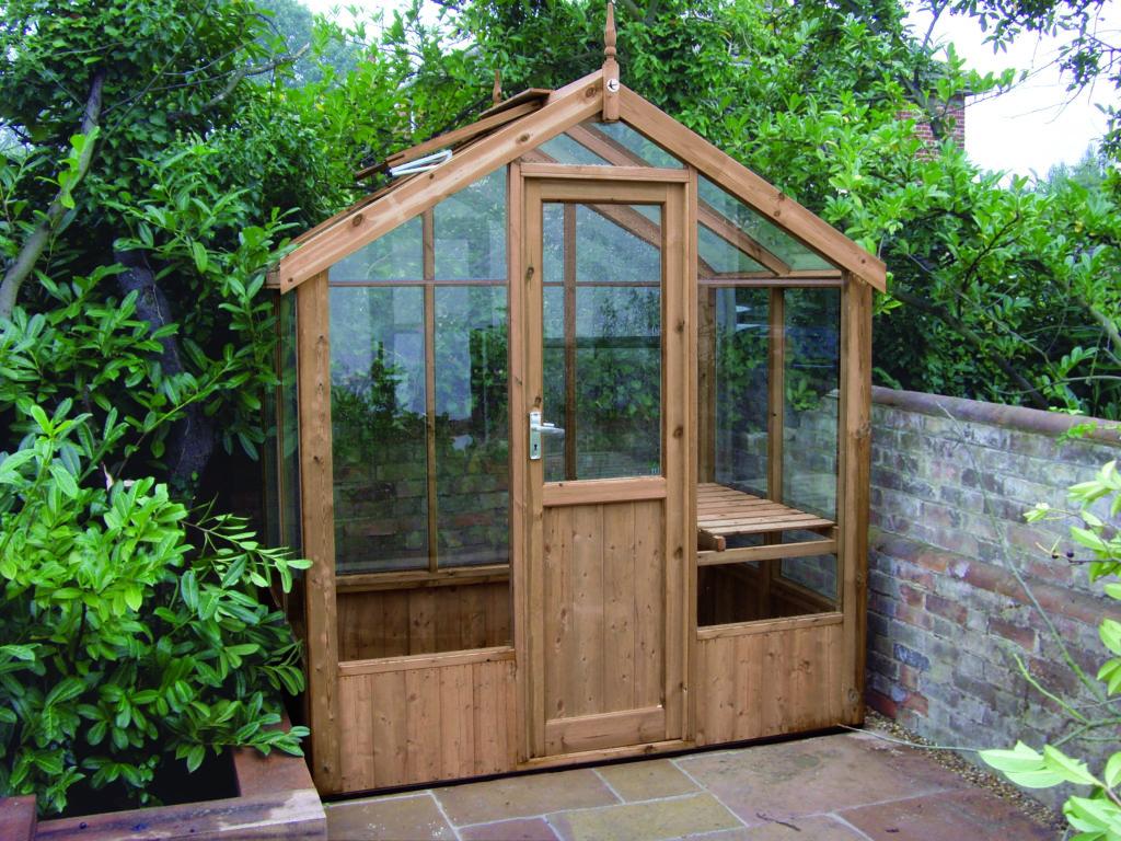 Swallow Kingfisher greenhouse 6'8 x 4'3