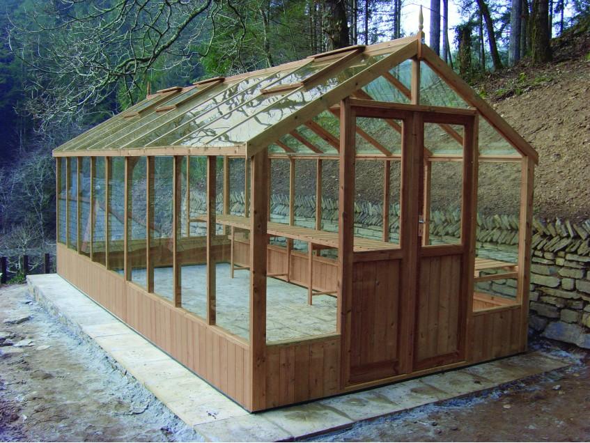 Swallow Raven greenhouse 8'9x18'10