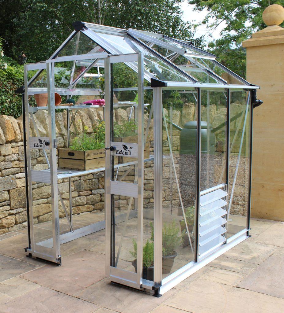 Eden Birdlip 46 greenhouse aluminium