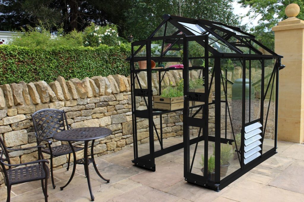 Eden Birdlip 46 greenhouse black