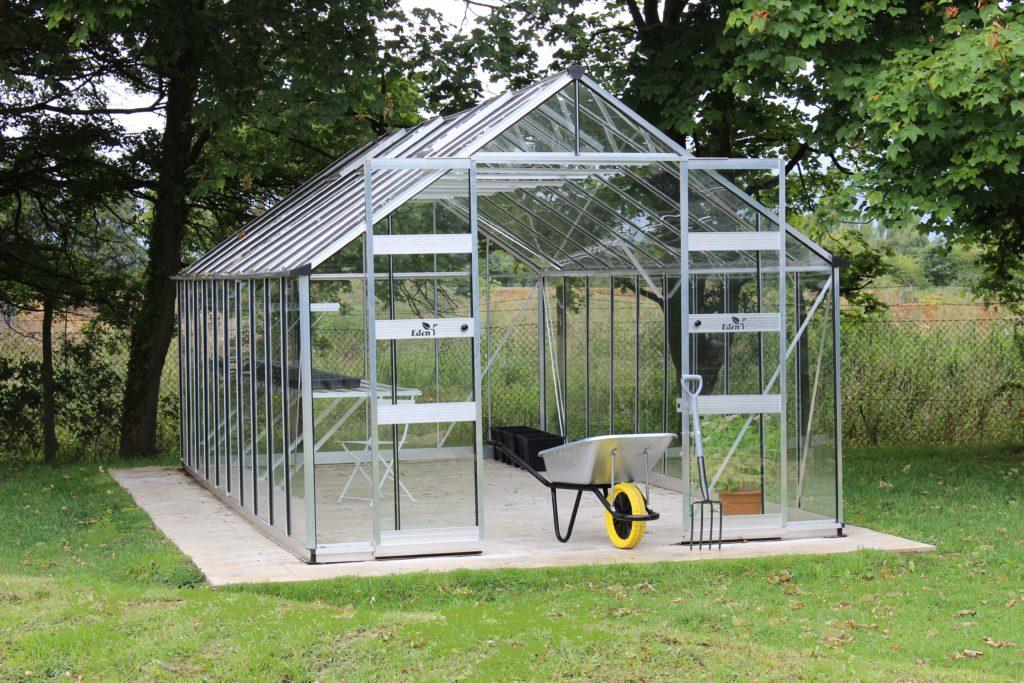 Eden Bourton greenhouse - aluminium