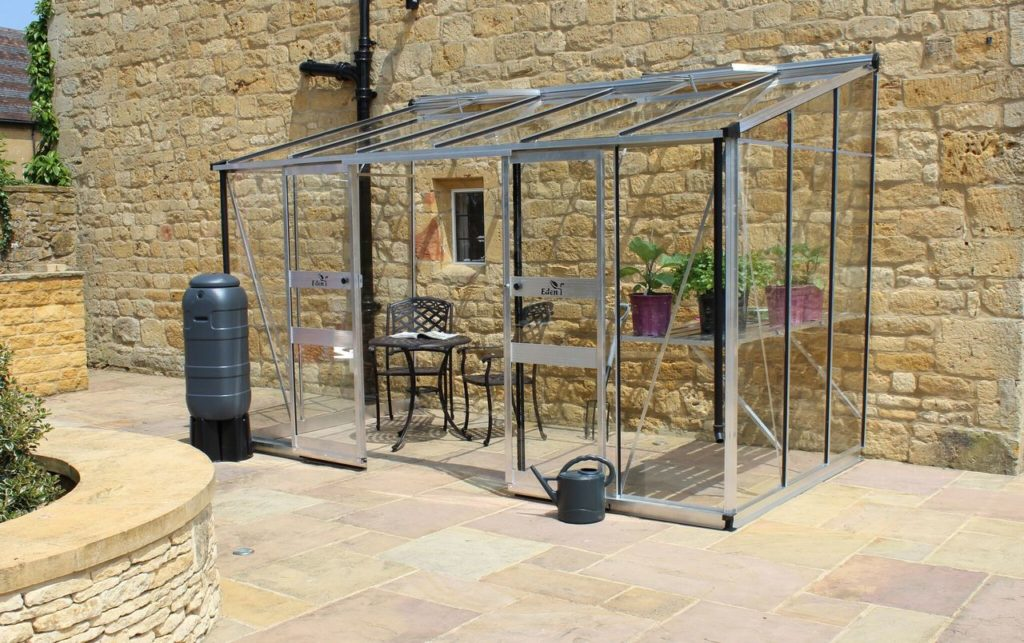 Eden Broadway 126 greenhouse in aluminium