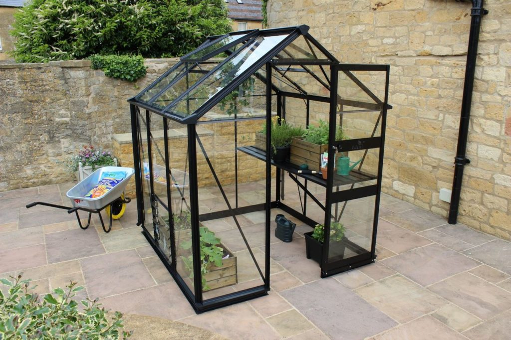 Eden Burford 66 greenhouse black
