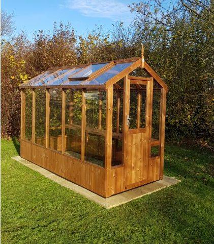 Lark Swallow greenhouse 4'7 x 10'5