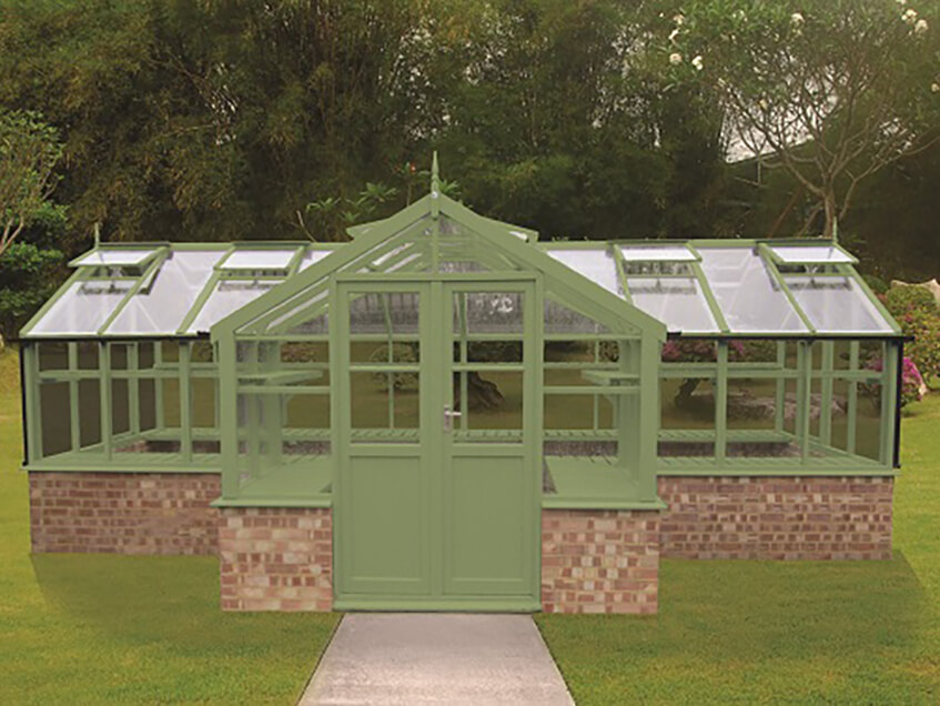 Swallow Swan greenhouse 8x13ft