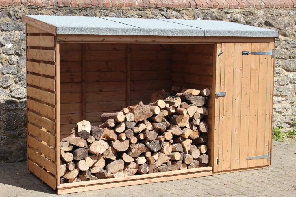 Passmores 3 x 8 log store